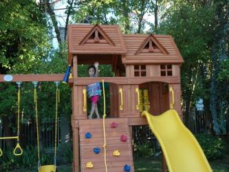<b>R-50</b>: Redwood Play Set AH