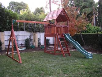 <b>R-62</b>: Redwood Play Set AR