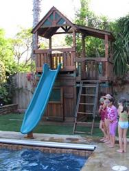 <b>R-12</b>: Redwood Play Set O
