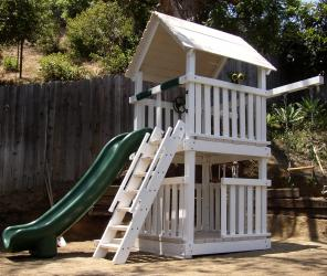 <b>P-18</b>: Fort Super Slide 3/4 Bottom Enclosure