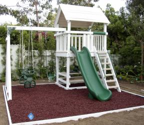 <b>P-28:</b> Fort Picnic Table Super Slide 2 Position Swing System 2 N 1 Glider