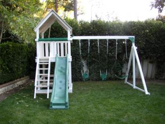 <b>P-8:</b> 3 Position Swing System Fort Wave Slide