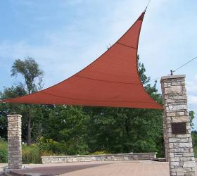 11 ft x 11 ft Triangle Coolaroo Shade Sail