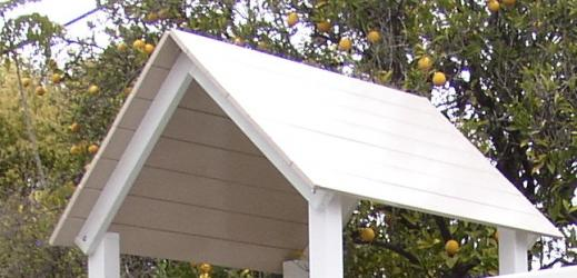 Poly Coated Wood Roof