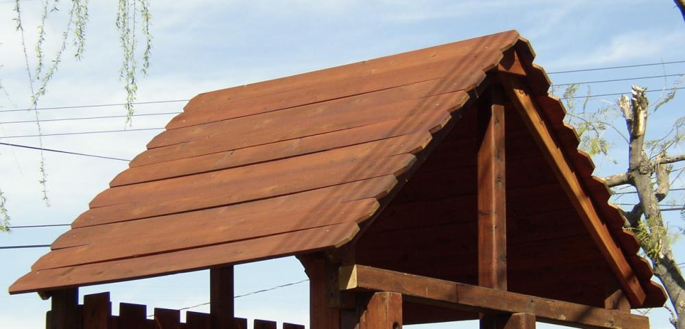Wood Roof Swingsetsolutions Com