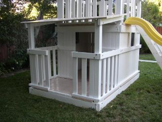 Full Bottom Enclosure With Porch