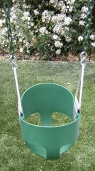 Full Bucket Swing With Chain