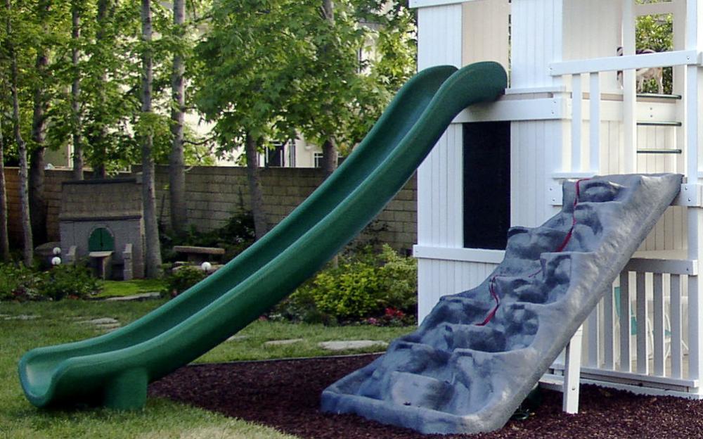 Super Slide For 7 Ft Deck Swingsetsolutions Com